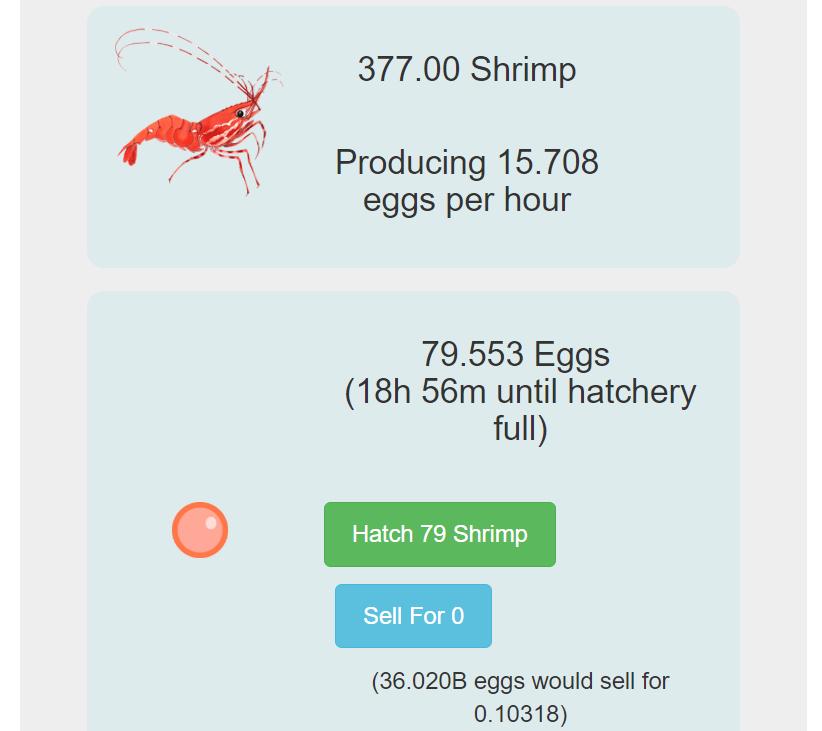 エビの卵で一攫千金!?集めて売るだけ超シンプル「Ether Shrimp Farm」(イーサシュリンプファーム)